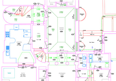 Aworth survey consultants services building surveys for Floor plan drafting services